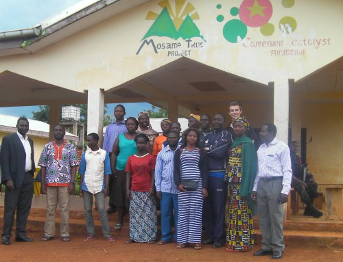 Cameroon Catalyst Hand the Medical Centre to CMFI – July '16